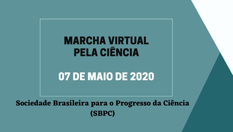 Entidades de todas as regiões do País participam nesta quinta-feira da Marcha Virtual pela Ciência