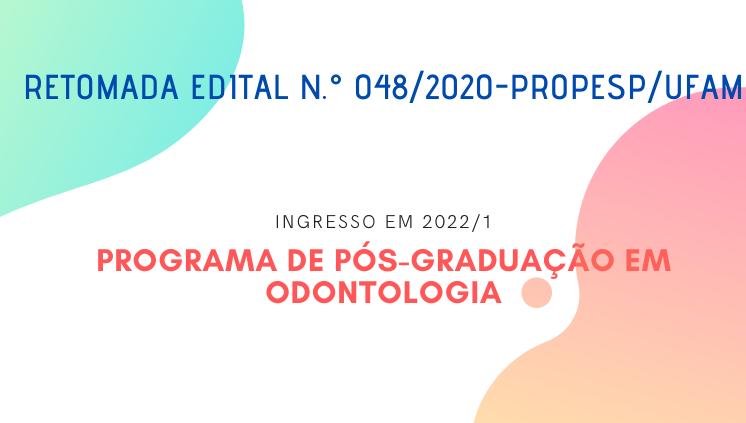 Programa de Pós-graduação em Odontologia