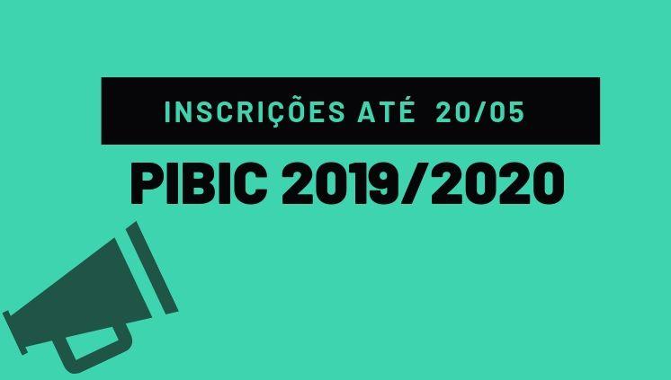 ______Edital de Seleção PIBIC 2019/2020_____