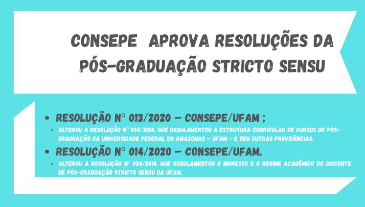 Novas Resoluções da Pós-graduação Stricto Sensu
