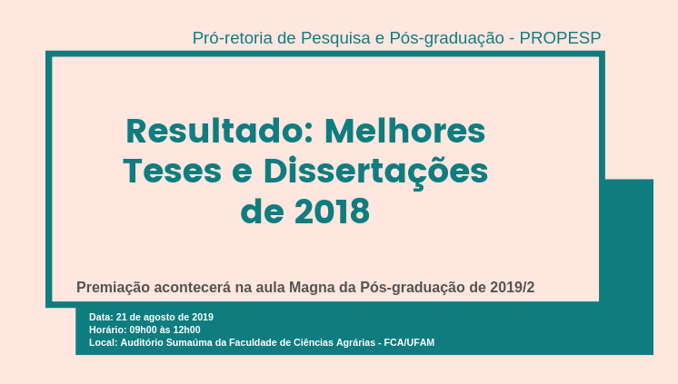 ____Melhores Teses e Dissertações de 2018___