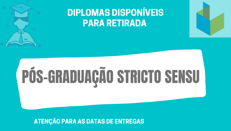 Datas de entregas de Diplomas Stricto Sensu pela Propesp