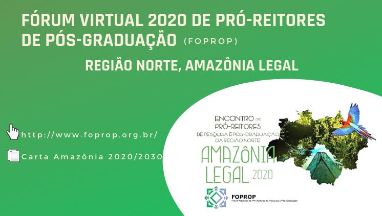 Fórum Nacional de Pró-reitores de Pesquisa e Pós-graduação das Instituições de Ensino Superior Brasileiras (FOPROP)